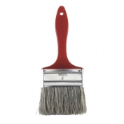 Rubberset Gray Natural China Bristle Chip Brush