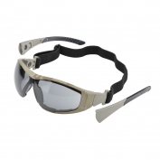 Elvex Go-Specs II Safety Glasses/Goggles - Camo Frame - Grey Anti-Fog Lens