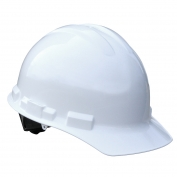 Radians GHP4 Granite Hard Hat - 4-Point Pinlock Suspension - White
