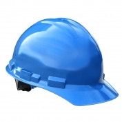 Radians GHP6 Granite Hard Hat - 6-Point Pinlock Suspension - Blue