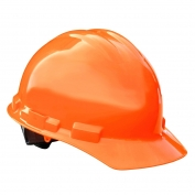 Radians GHR4 Granite Hard Hat - 4-Point Ratchet Suspension - Hi-Viz Orange