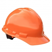 Radians GHR6 Granite Hard Hat - 6-Point Ratchet Suspension - Orange