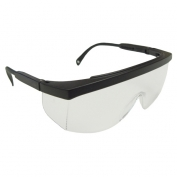 Radians Galaxy Safety Glasses - Black Frame - Clear Lens