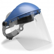 Elvex HG-80 Ultimate Headgear with Polycarbonate Face Shield