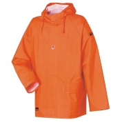 Helly Hansen 70030 Horten Flame Retardant PVC Rain Jacket - Orange