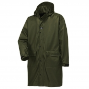 Helly Hansen 70149 Impertech Long Rain Jacket - Green Brown