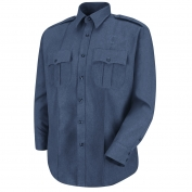 Horace Small HS1133 Sentry Plus Long Sleeve Shirt - French Blue Heather