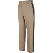 Horace Small HS2277 Men\'s Virginia Sheriff Trousers - Zipper Closure - Pink Tan with Brown Stripe