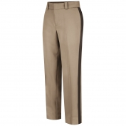 Horace Small HS2278 Women\'s Virginia Sheriff Trousers - Zipper Closure - Pink Tan with Brown Stripe