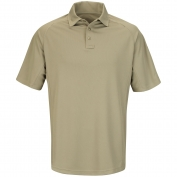Horace Small HS5140 Sentry Performance Short Sleeve Polo - Silver Tan