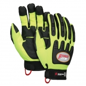 Memphis HV300 ForceFlex Multi-Task Gloves - Rough Grip Palm Pad - TPR Padded Back