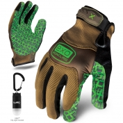 Ironclad EXO-PGG Project Grip Gloves - Includes 25 Lumen Clip Light