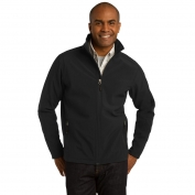 Port Authority J317 Core Soft Shell Jacket - Black