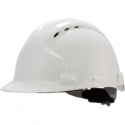 JSP MK8 Evolution ANSI Type II Vented Hard Hat - White