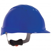 JSP Evolution 6151V Deluxe Vented Hard Hat - Wheel Ratchet Suspension - Blue