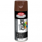 Krylon K02501A07 Acryli-Quik Acrylic Lacquer - Leather Brown