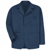 Red Kap KP10 Men's Lapel Counter Coat - Navy