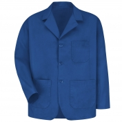 Red Kap KP10 Men's Lapel Counter Coat - Royal Blue