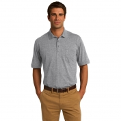Port & Company KP55P 5.5-Ounce Jersey Knit Pocket Polo - Athletic Heather