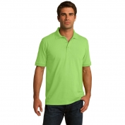 Port & Company KP55 5.5-Ounce Jersey Knit Polo - Lime