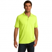 Port & Company KP55 5.5-Ounce Jersey Knit Polo - Safety Green