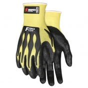 Memphis KV100 ForceFlex Nitrile Gloves - 13 Gauge Stretch DuPont Kevlar - TPR Back