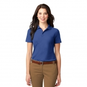 Port Authority L510 Ladies Stain-Resistant Polo - Royal