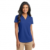 Port Authority L572 Ladies Dry Zone Grid Polo - True Royal