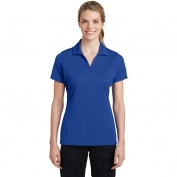 Sport-Tek LST640 Ladies PosiCharge RacerMesh Polo - True Royal
