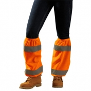 OccuNomix High Viz Shin Reflectors - Orange