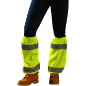 OccuNomix High Viz Shin Reflectors - Yellow/Lime