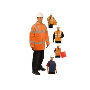 OccuNomix LUX-TJFS 5-In-1 Parka - Orange