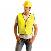 OccuNomix LUX-XNTS Non ANSI Solid Safety Vest - Yellow/Lime