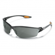 Crews LW212 Law 2 Safety Glasses - Smoke Frame - Gray Lens