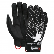 Memphis MB100 Multi-Task Gloves - Synthetic Leather Palm & Fingers - Velcro Closure