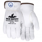 Memphis 3611DT Premium Goatskin Leather Driver Gloves - DSM Diamond Tech Lined