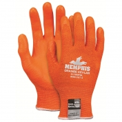 Memphis 9178NFO Nitrile Foam Knit Gloves - 13 Gauge Kevlar Shell - Hi-Vis Orange