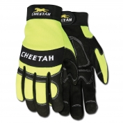 Memphis 935HVL Cheeta Multi-Task Gloves - Synthetic Leather Palm - Velcro Wrist Closure