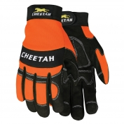 Memphis 935HVO Cheeta Multi-Task Gloves - Synthetic Leather Palm - Velcro Wrist Closure