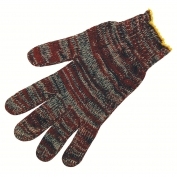 Memphis 9642M String Knit Gloves - 7 Gauge Regular Weight Cotton/Polyester - Multicolor