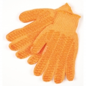 Memphis 9675M Honey Grip Gloves - 7 Guage Cotton/Polyester - PVC Honeycomb Criss-Cross