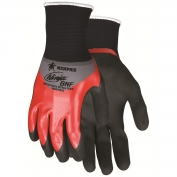 Memphis N96783 Ninja BNF Gloves - 18 Gauge Nylon/Spandex Shell - Double Nitrile Coated