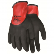 Memphis N96785 Ninja BNF Gloves - 18 Gauge Nylon/Spandex Shell - Dual Layer Nitrile Coating