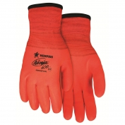 Memphis N9690FCO Ninja Ice HPT Fully Coated Gloves - 15 Gauge Nylon Shell - Orange