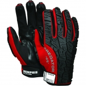 Memphis PD2902 Predator Multi-Task Gloves - ANSI Cut Level 2 Synthetic Leather Palm - Tire Tread TPR on Back