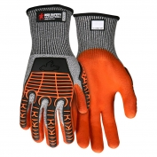 Memphis UT2952 UltraTech Multi-Task Knit Gloves - Padded Synthetic Leather Palm - TPR Padded Back
