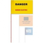 Presco Printed Wire Marking Flags 5x8