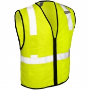 ML Kishigo 1191 Economy Series 6-Pocket Mesh Safety Vest - Yellow/Lime