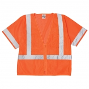 ML Kishigo 1265 Ultra-Cool Mesh Class 3 Economy Safety Vest - Orange