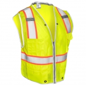 ML Kishigo 1510 Brilliant Series Heavy Duty Safety Vest - Yellow/Lime